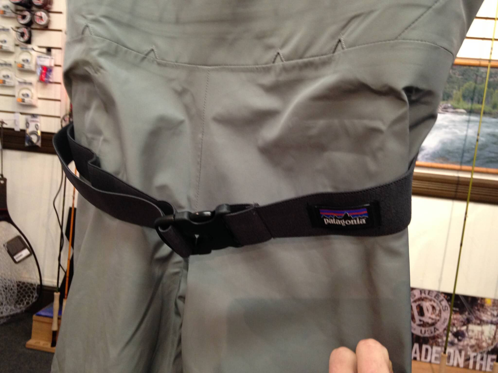 Improved wading belt on the new wader.
