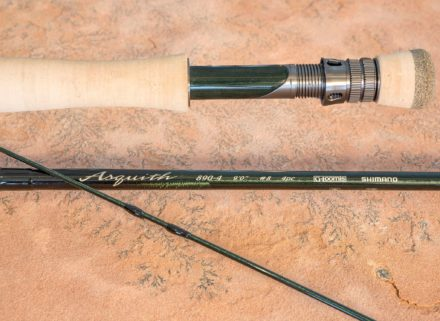 Like the NRX, the Loomis Asquith is very fast action. Its lightness and fine tuned action make it surprisingly easy to cast for a fly rod with this much power.