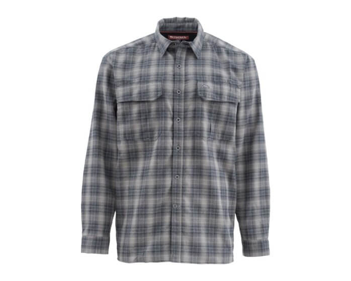 Coldweather Shirt Black Plaid